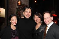 Lia Chang, Joel de la Fuente, and Jeanne Sakata