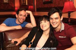 Lena Hall and Wesley Taylor