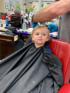Jaxon's first haircut.jpg