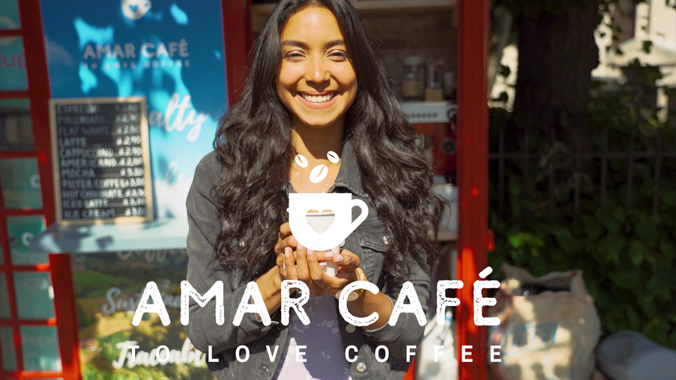 Promotional video filmed for an unconventional café, served from signature London's telephone boxes.