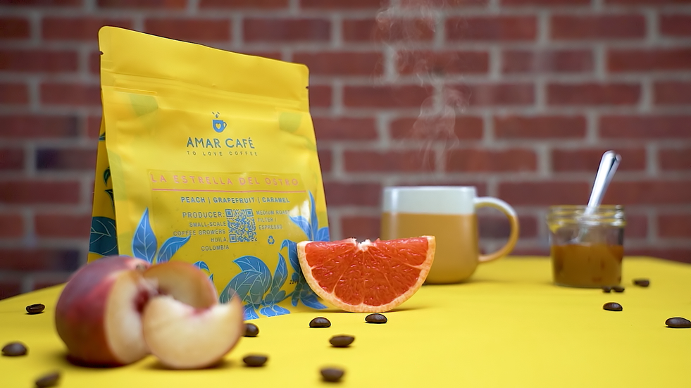 Short video ad created for Amar Cafe, to present their new coffee beans!