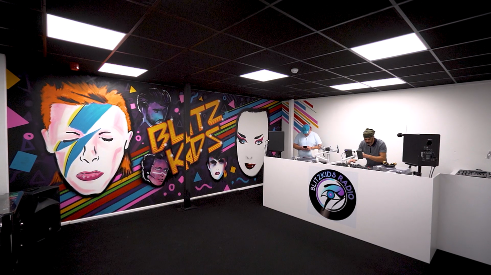 Promotional video for Essex' radio station, showing of their new studio.