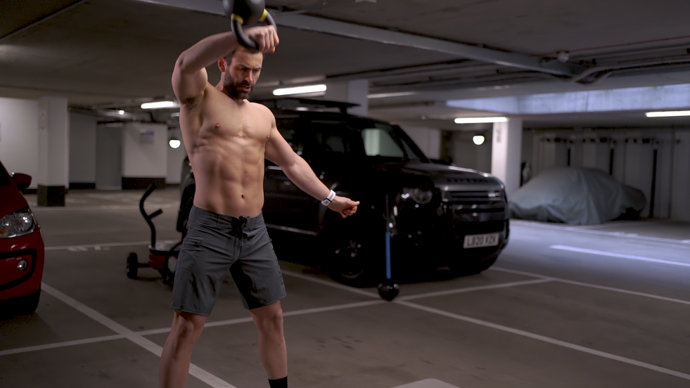 Short fitness video created for Adam, the fitness coach, to improve traffic on his instagram account.