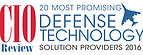 2016 CIO Review Most Promising Defense Technology