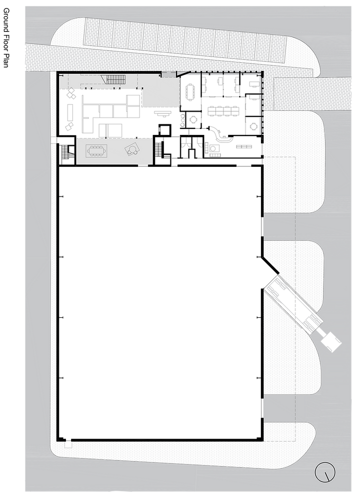 N3 Project Warehouse & Showrooms - Groun