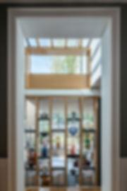 bookshelf light lantern oak