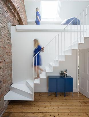 Folding Steel Stairs Mezzanine