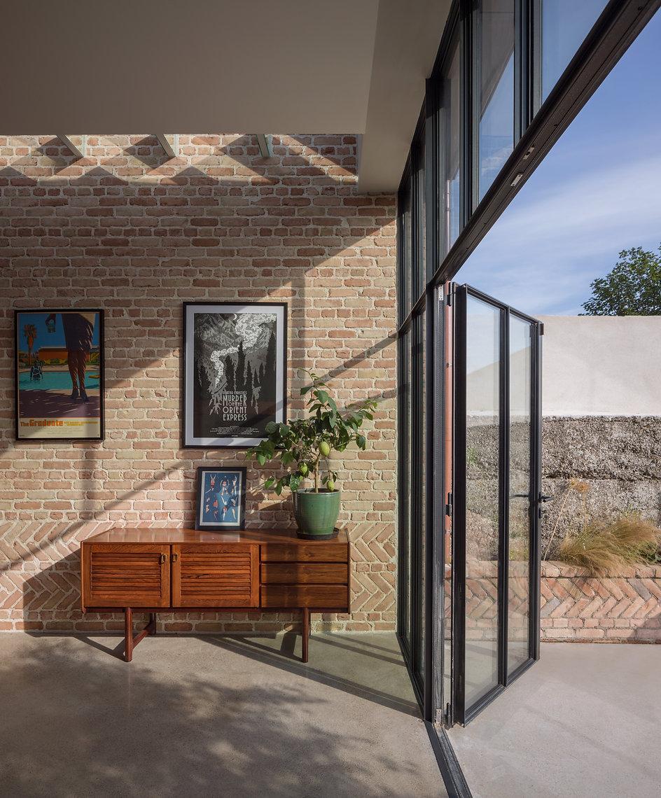 Period Home Refurbishment Herringbone brick
