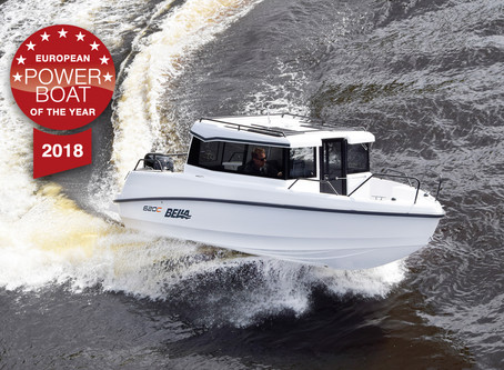 BELLA BOATS WINS EUROPEAN POWER BOAT OF THE YEAR WITH THE 620C