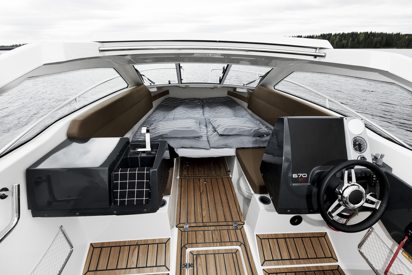 Flipper 700 Sport Top forward bed up
