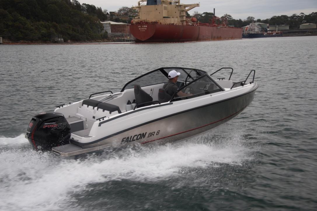 Falcon BR 6 port starboard quarter run