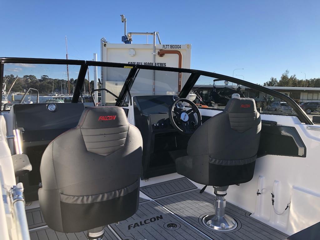 Falcon BR 6 cockpit forward