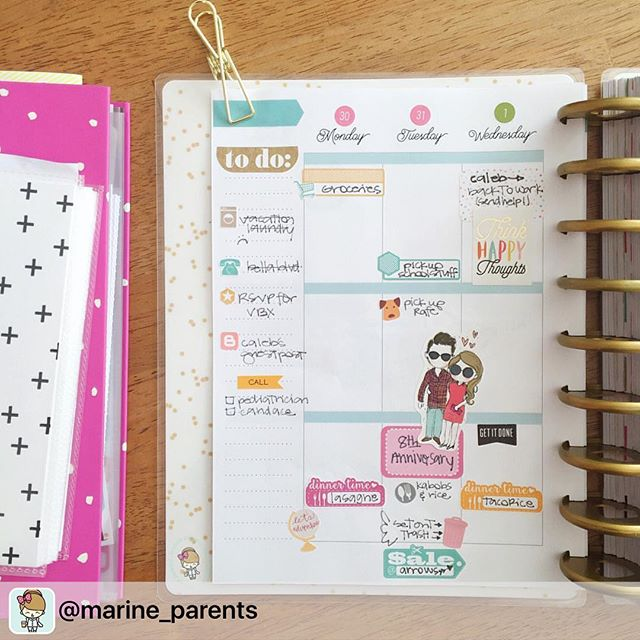 Thanks _marine_parents for sharing your beautiful layout with the miss lily shades love sticker , ha