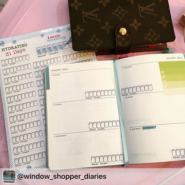 starting the year with good resolutions, thanks for sharing _window_shopper_diaries 😊👍🏻