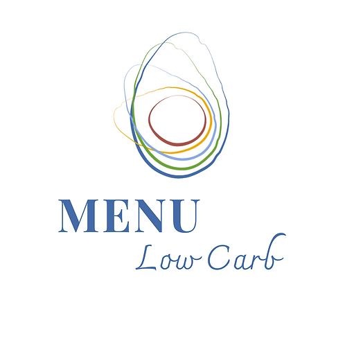MENU LOW CARB