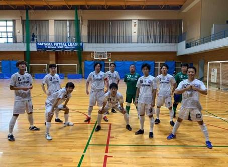 埼玉県フットサルリーグ2部 第2節 結果