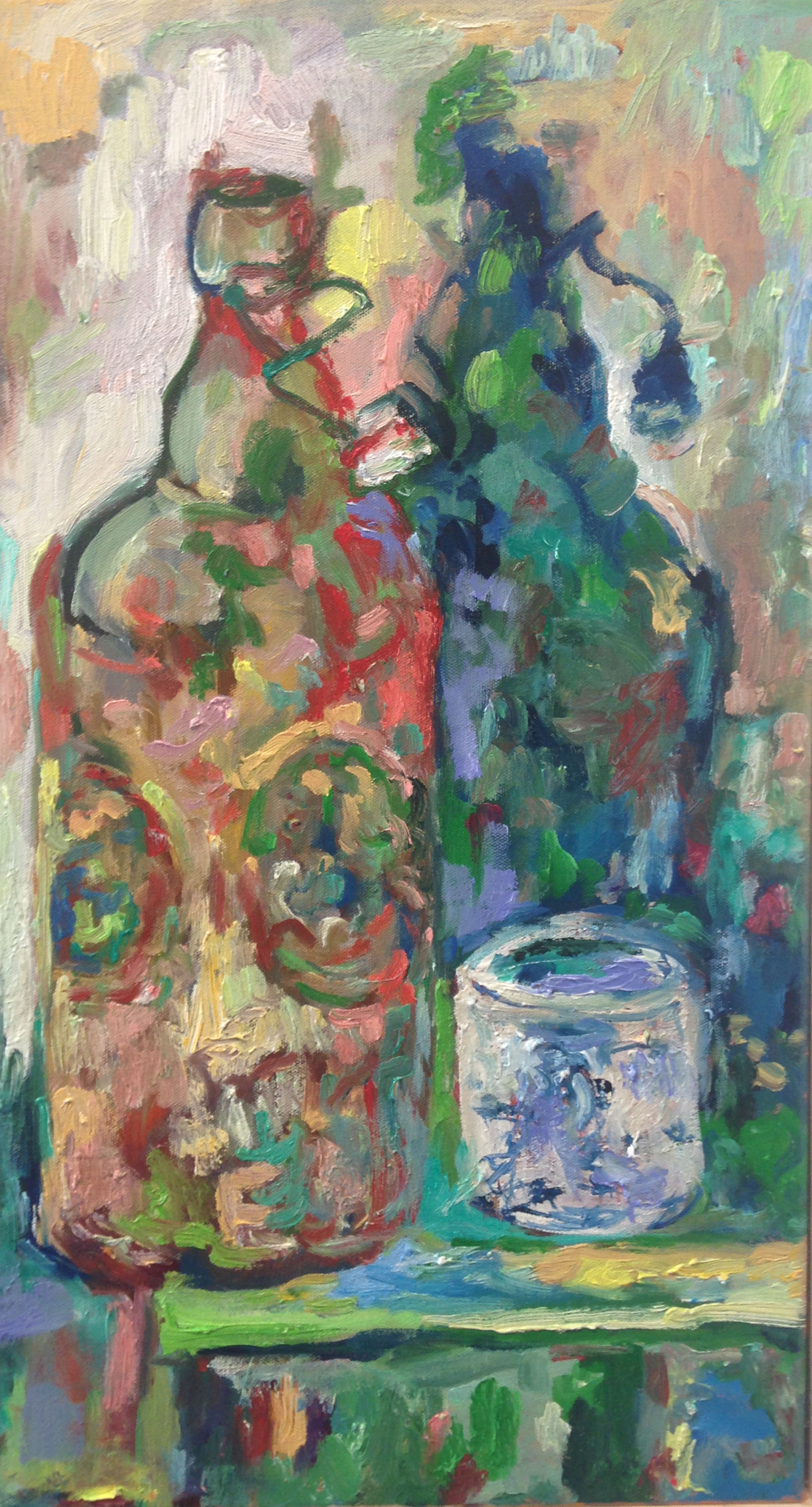Belgian Glass (Oil Painting)