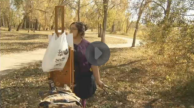 north dakota plein air painter