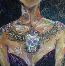 Nicole Gagner Chestpiece of the Dead 2014