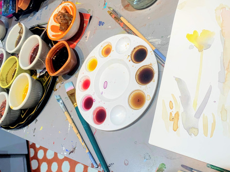 Painting With Unconventional Materials