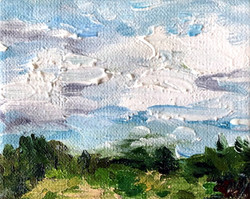 cloudscape painting