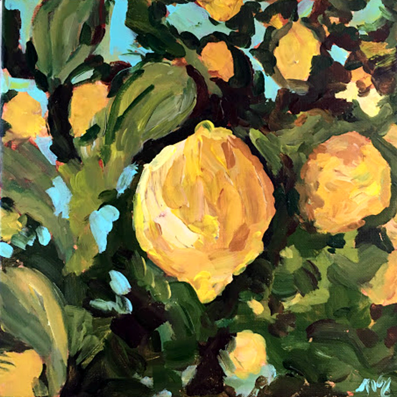 Lemon Tree Painting