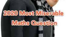 2020 Toughest Maths Questions