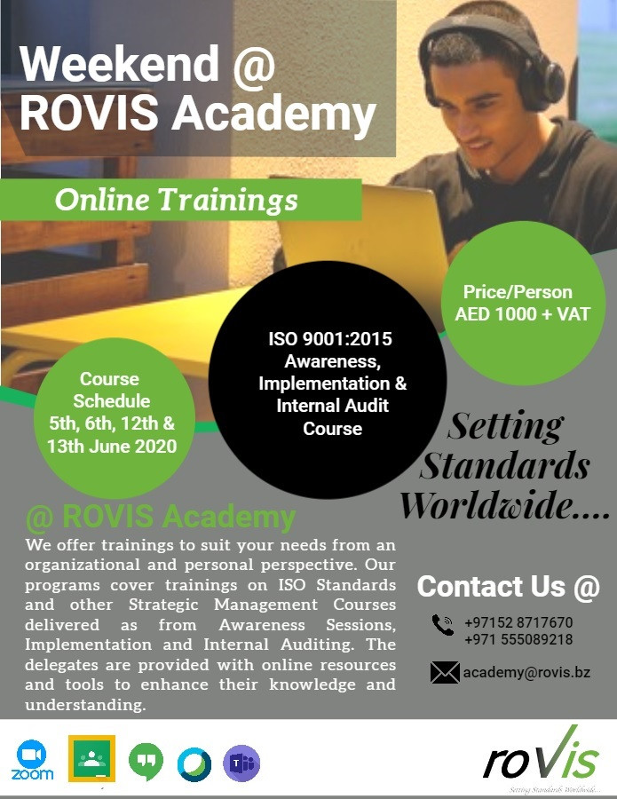 Weekend @ ROVIS Academy