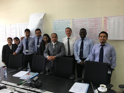 Training at Dubai Driving Center