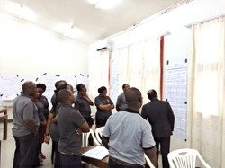Training at Tanzania