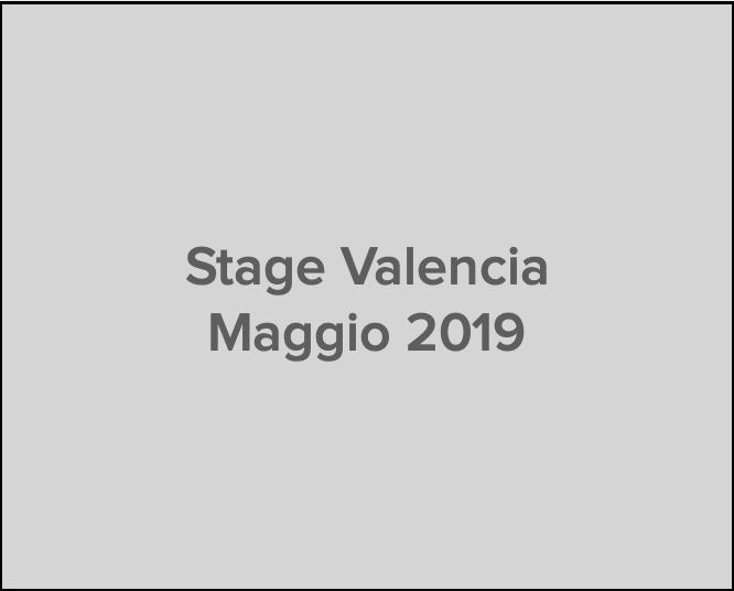 stage Valencia maggio 2019