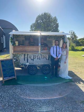 wedding hapunan