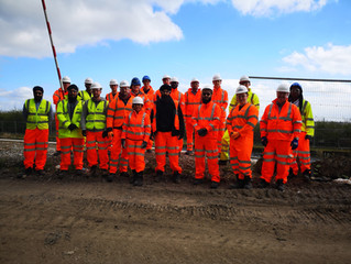 Eiffage Kier leads JV apprentice site visit to Mersey Gateway