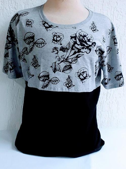 Camiseta Masculina Pala Cinza - Raposa Clothing