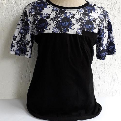 Camiseta Masculina Pala de Flores - Raposa Clothing