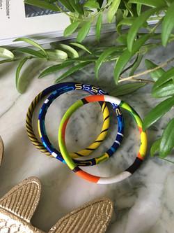 Lot de bracelet wax