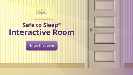 Safe to Sleep Interactive Room_Landing P