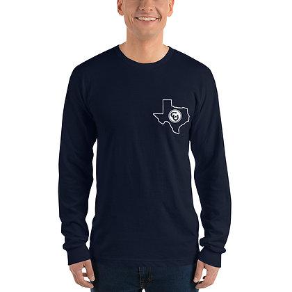 Texas Long Sleeve Tee Navy