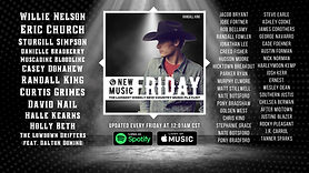 New Music Friday (Willie Nelson, Sturgill Simpson, Randall King, Curtis Grimes, Holly Beth & more)