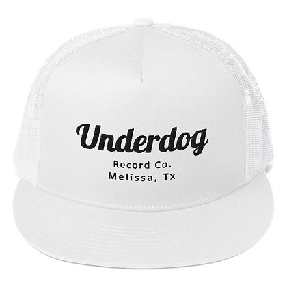 Underdog Record Co. White Cap