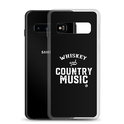 Whiskey & Country Music Samsung Case