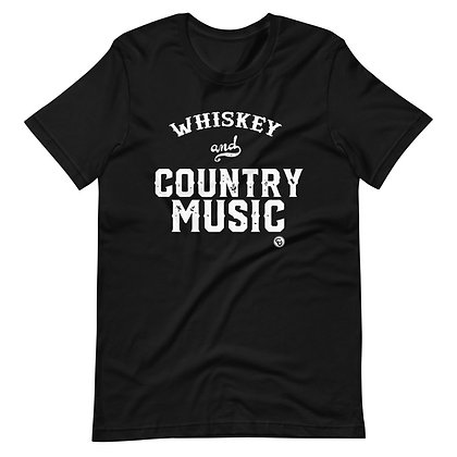 Whiskey and Country Music T-Shirt