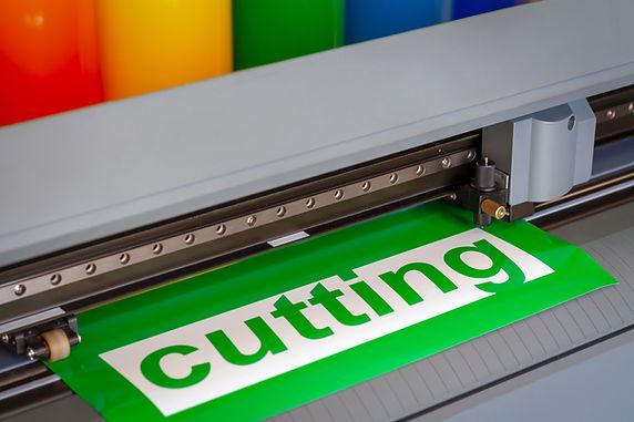 Vinylskjærer og -printer