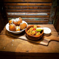 Some of our tasty tapas dishes _via_dell