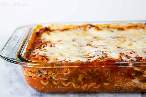 Home Made Lasagna Trays (serves 8-10 people)