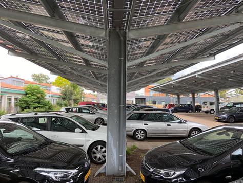 Meeprofiteren van een uniek Solar Parking project