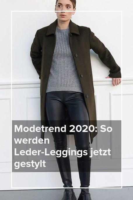 Modetrend 2020_ So werden Leder-Leggings