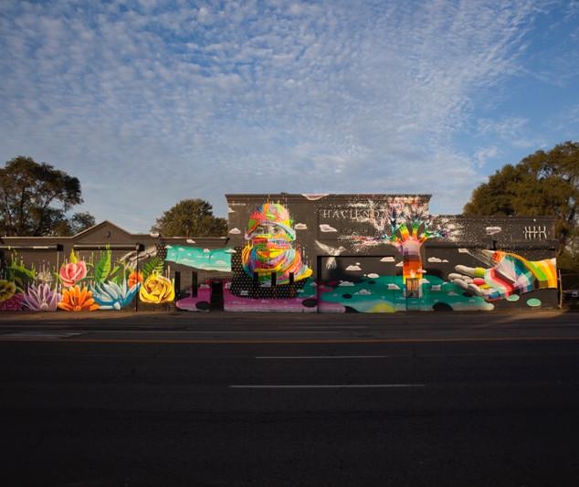 Garage Cultural (Facade) - Dasic Fernandez (Chile)