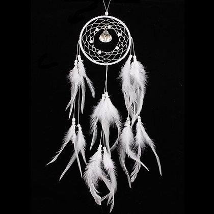 Attrape-rêve Dream Catcher plumes Ethnique Cloche Bell 55cm