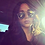 Lunettes de soleil Vintage Métal Rihanna Sunglasses Stage